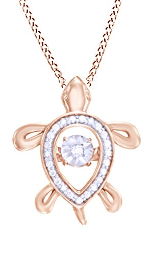 dancing-white-natural-diamond-accent-turtle-pendant-necklace-in-14k-rose-gold-over-sterling-silver