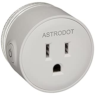 Wifi Smart Plug Mini, Astrodot Smart Home Power Control Socket, Remote Control Your Household Equipment from Everywhere, No Hub Required, Compatible with Alexa, Echo Dot & Google Home (4 Packs)