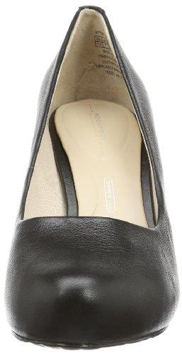 de de Schwarz Schwarz Black talla zapatos Black Negro Rockport Plain vestir Negro cuero mujer STO7H95 Pump wxqBAInHfY