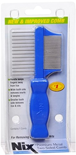 Nix Premium Metal Two-Sided Comb 1 Each (Pack of 11) by NIX