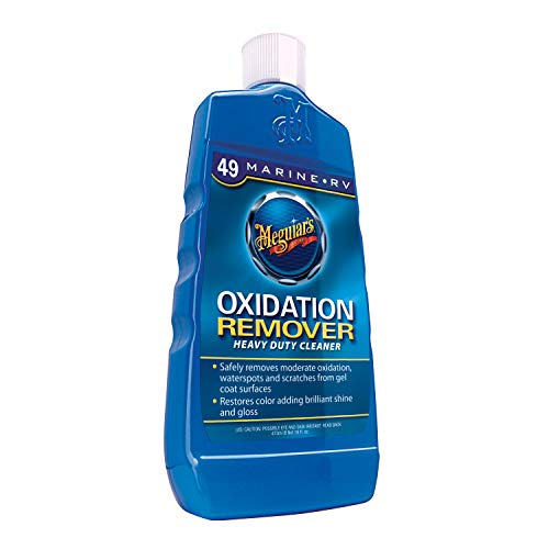 Meguiar's Marine/RV Heavy Duty Oxidation Remover ? Marine Cleaner to Remove Oxidation ? M4916, 16 oz