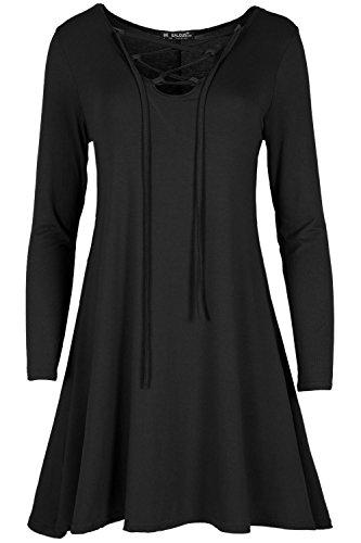 Star Fashion - Vestido - para mujer negro