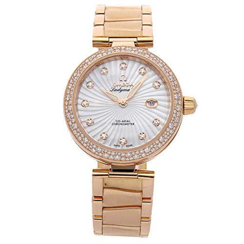 Omega De Ville Mechanical (Automatic) Mother-of-Pearl Dial Womens Watch 425.65.34.20.55.001 (Certified Pre-Owned)