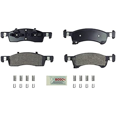 Bosch BE934H Blue Disc Brake Pad Set with Hardware for 2003-06 Ford Expedition and Lincoln Navigator SUVs - FRONT: Automotive