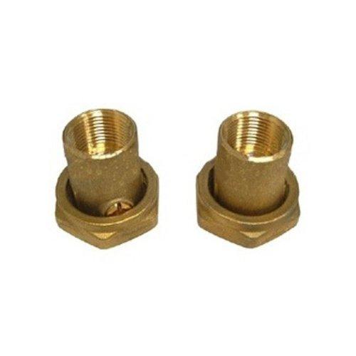 "Grundfos 519852 3/4"" Mpt Bronze Circulator Pump Packaged Union Isolation Valve Set"