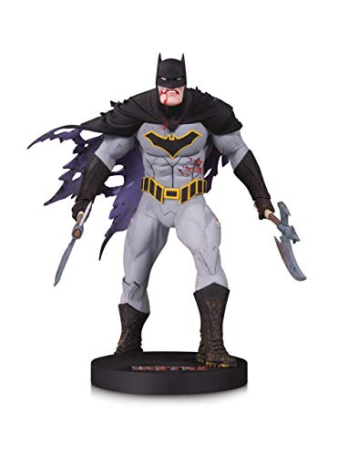 DC Designer Series: Metal Batman by Greg Capullo Mini Statue