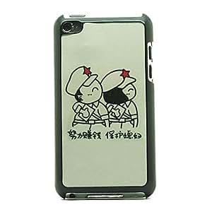 Amor Pareja patrón duro caso para el iPod touch 4