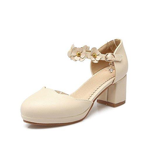 Peep oras Zapatos Alto BAJIAN Toe Bajos heelsWomen LI Chanclas Sandalias Se Verano Sandalias Zapatos vqwXa