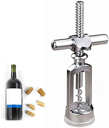 Chenhan Abridor Botellas Abrelatas de Vino aleación de Zinc ala Premium sacacorchos de Vino abrelatas de Botellas de Vino con Botellas multifuncionales abrelatas de Champagne Tarro abridor