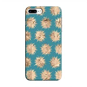 Cover It Up - Sand Star Dark Cyan iPhone 7 Plus Hard Case