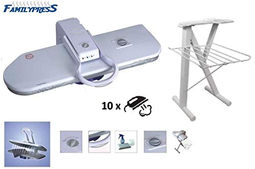 RiCOMA Family Press Ironing Steam Press Area 32x10 for Dry or Steam Iron Pressing