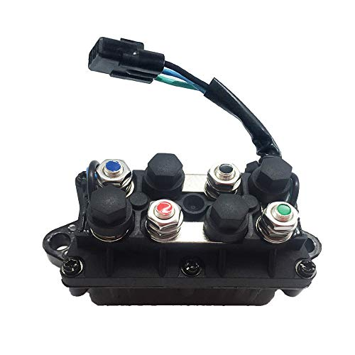 Max Motosports Winch Solenoid for Arctic Cat ATV Warn Winch 0409-066