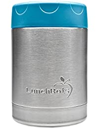 LunchBots Thermal 12 oz. All Stainless Steel Interior -...