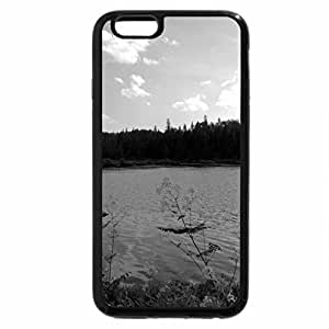 iPhone 6S Case, iPhone 6 Case (Black & White) - Lake View