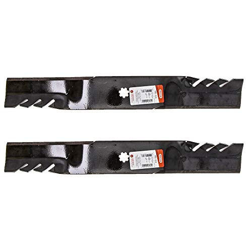 (Oregon 592-615 Pack of 2 Gator G5 Blades - 21-3/8