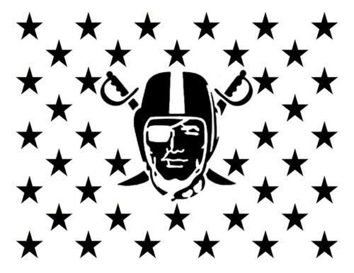 - OutletBestSelling Reusable Sturdy Oakland Las Vegas Raiders Flag Star 11