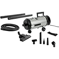 Metrovac World OV4SNBF Professional Evolution Compact Canister Vaccum, All Steel Construction, Mini Canister with HEPA Filter, Twin Fan Motor, Made in the USA