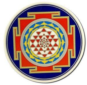 (Native Visions Illuminations Dharmaseals Decals, Sri Yantra)