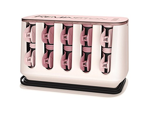 Remington H9100 Proluxe Heated Rollers - Rose Gold