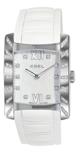 Ebel Women's 9256M48/29840WC Brasilia Mother-Of-Pearl Dial Diamond Watch