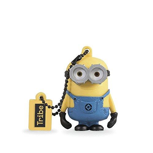 Tribe, Despicable Me, Minions,16GB Flash Drive 2.0 Memory Stick Keychain, Minion Bob]()