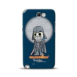 Diabloskinz D0091-0066-0032 - Carcasa para Samsung Galaxy Note 2, diseño de esqueleto de Darth Vader