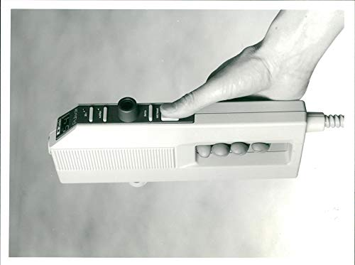 Vintage photo of Keeler Tonometer