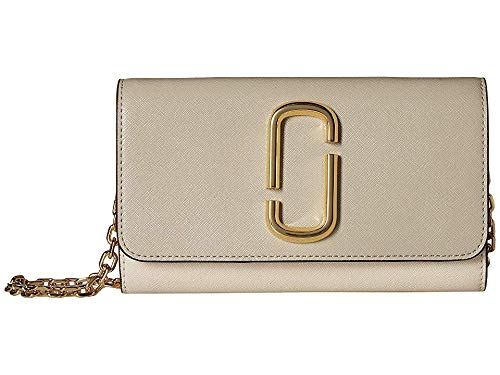 Marc Jacobs Women's Snapshot Wallet on Chain, Dust Multi, One Size (Marc Jacobs Designer Accessories)