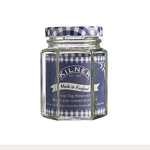 Kilner Hexagonal Twist Top Jar, 9.5-Fl Oz