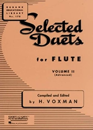 Selected Duets for Flute, Vol. 2: - Flute Duets Guitar