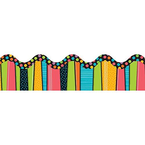 Carson Dellosa Stylin' Stripes Borders (108086)