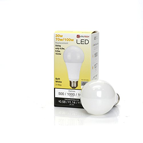 3 Way Led Bulb A21 30w 70w 100w 4 8w 9 5 Brickseek