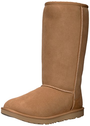 (UGG Kids K Classic Tall II Pull-on Boot, Chestnut, 6 M US Big Kid)