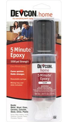 (ITW Devcon 20845 High Strength Epoxy Anchoring Adhesive, 1-Pack)