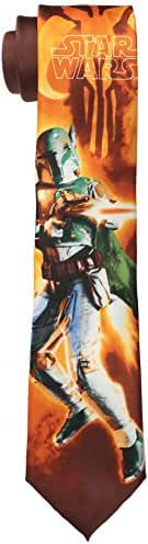 Star Wars Men's Boba Fett Attack Tie