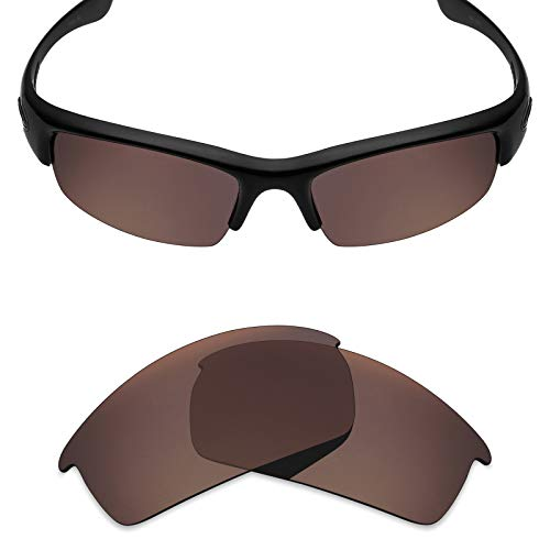 Sunglasses Root Beer - Mryok Polarized Replacement Lenses for Oakley Bottlecap - Bronze Brown