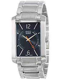 ESQ Movado Men's 07301405 esq Synthesis tm Rectangular Stainless Steel Watch