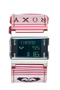Roxy W084BL-STR109T - Reloj digital de cuarzo para mujer con correa de piel, color multicolor