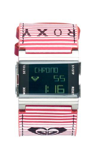 Roxy W084BL-STR109T - Reloj digital de cuarzo para mujer con correa de piel, color multicolor: Amazon.es: Relojes