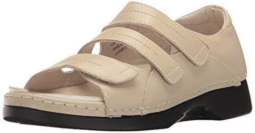 Price comparison product image Propet Women's Vitawalker Platform Dress Sandal,  Bone,  11 W US