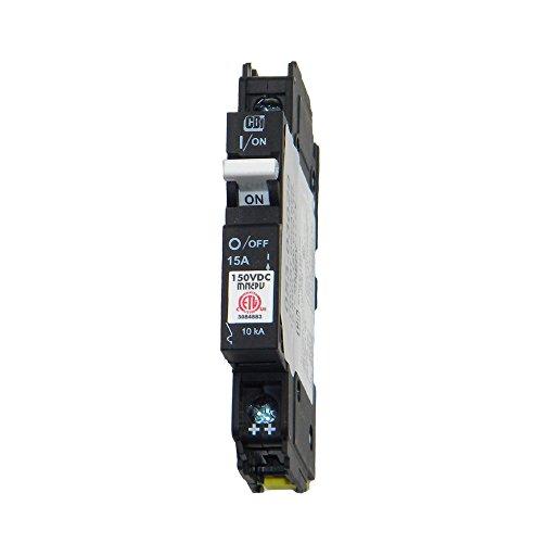 Pv Breaker (Din Rail Mount Combiner PV Breaker - 15 Amp, 150 VDC, | MNEPV15)