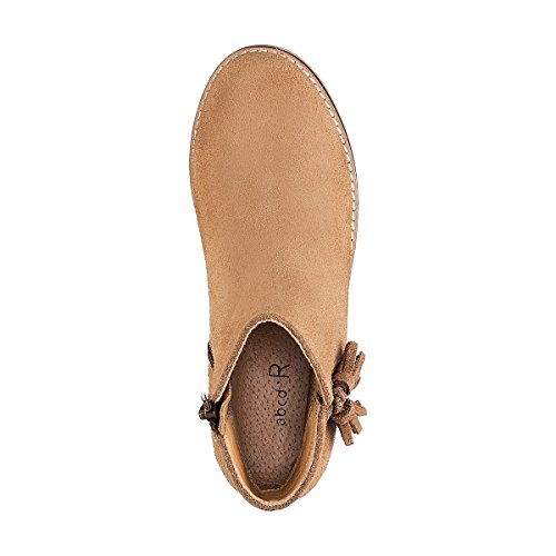La Redoute Collections Mdchen Glanzende Boots mit Pompons Gr. 2639 Gre 29 Beige