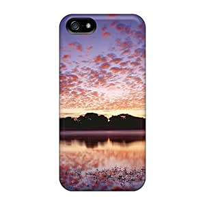 New Arrival Colors Of Dawn In Guernsey Channel Isls For Iphone 5/5s Cases Covers