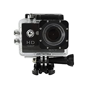 HDKing 1080P WIFI Sports Action Camera Waterproof DV Camera 2 inch LCD Screen 170 Degree Wide Angle Lens