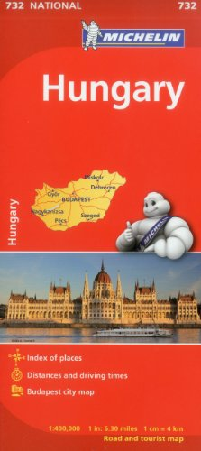 Michelin Hungary Map 732 (Maps/Country (Michelin))