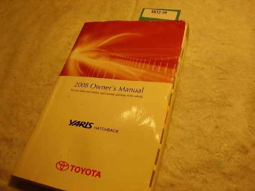 2008 Toyota Yaris Hatchback Owners Manual