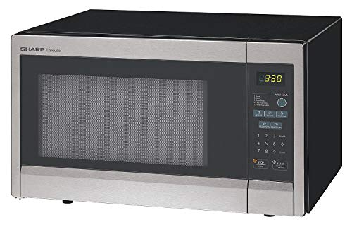 Sharp Stainless Steel Consumer Microwave Oven, 1.10 cu. ft, 120V @ 60 Hz - R331ZS