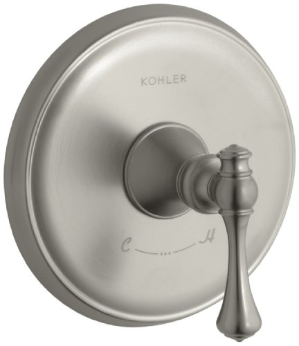 KOHLER K-T16175-4A-BN Revival Thermostatic Valve Trim, Vibrant Brushed Nickel