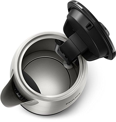 Philips HD9350/90 Wasserkocher (2200 Watt, 1.7 Liter, Edelstahl)[Energieklasse A+++] 3
