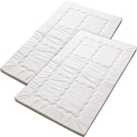 EMOOR Washable Set of 2 Baby Futon Mattresses Rin (28 x 47 in.).
